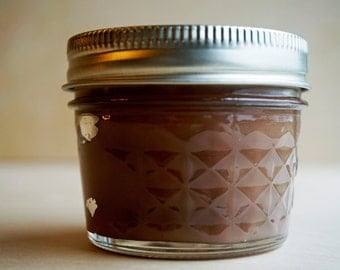 Southern Pecan Pie candle // pecan pie scented soy wax 4 oz mason jar candle // hand poured small batch // baked goods candle