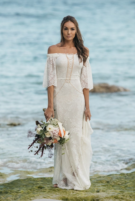 You've Got the Love lace wedding dress