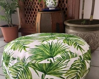 Palm Tree Ottoman Etsy