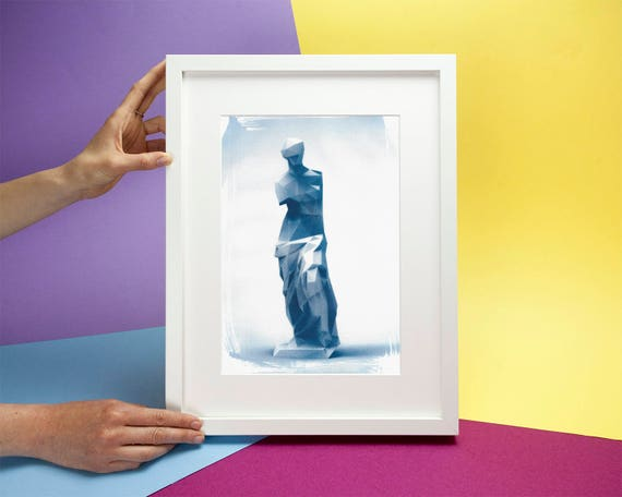 Venus de Milo Low-Poly Sculpture (Limited Edition)