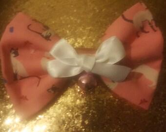 Jingle Cat hair bow