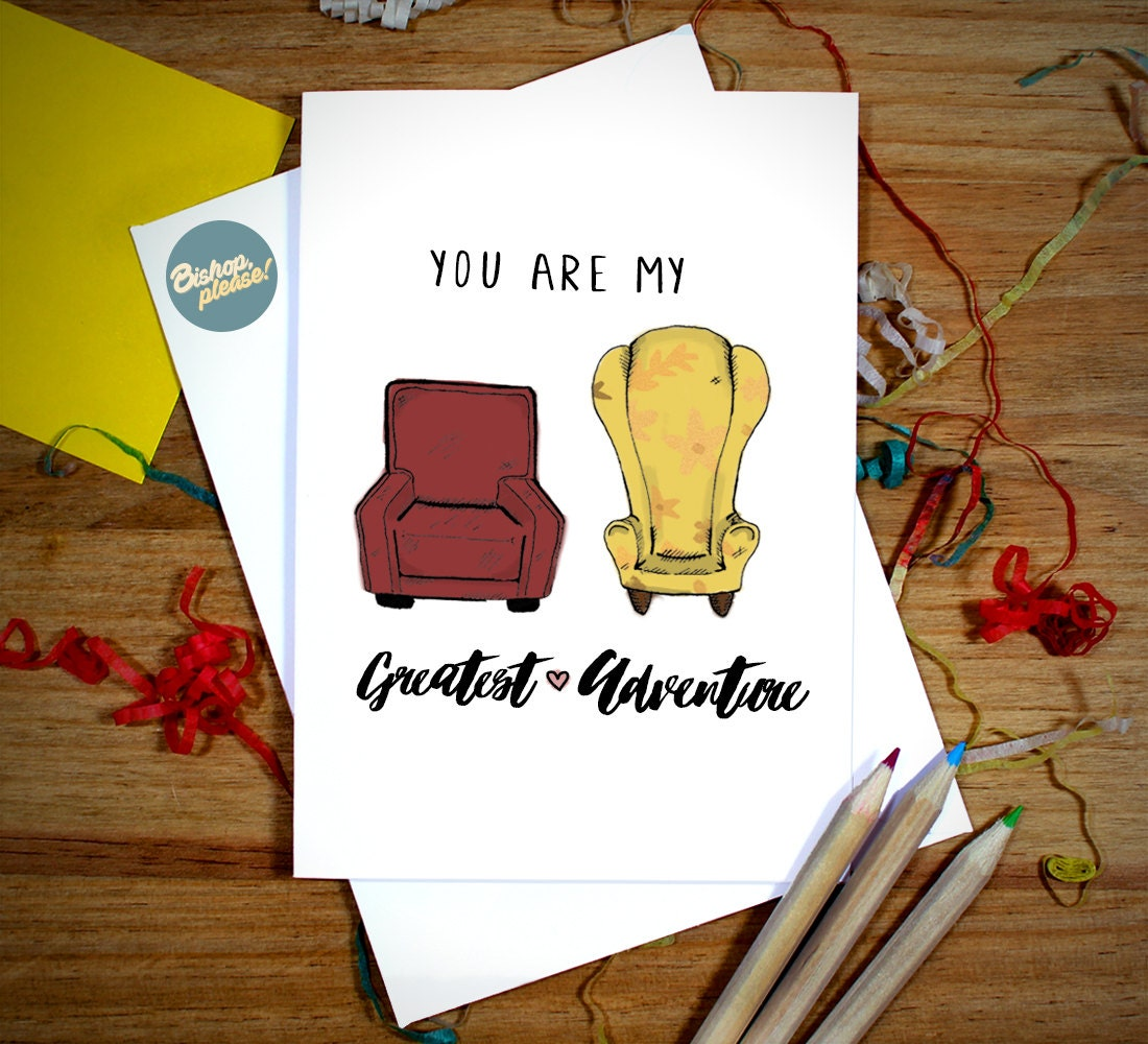 You Are My Greatest Adventure UP Disney Pixar Greeting Card