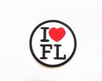 I love Florida patch