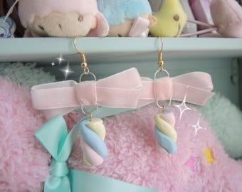 Sweetie Marshmallow Earrings