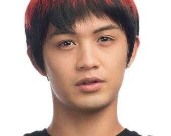 Kagami - 10'' Short Straight Wig Men's Layered Cut