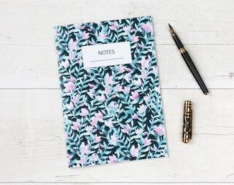 Pink Petal A5 Lined Notebook