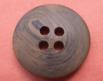 10 dark brown buttons 18mm (3660) brown jacket buttons trouser buttons