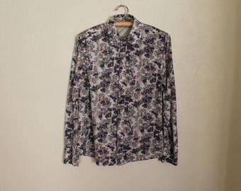 Men Shirt  Men's Button up Shirt Long Sleeve Shirt Fitted Dress Shirt Large Size