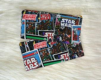 Star Wars burp cloths, Comic book burp cloths, Cotton burp cloths, 2 pack of burp cloths