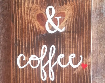 Jesus and Coffee Amen Sign |  Pallet Wood Sign | Pallet Sign | Wood Sign | Coffee Sign