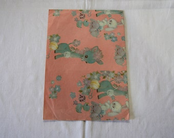Vintage | Baby Girl | Baby Toys | Wrapping Paper