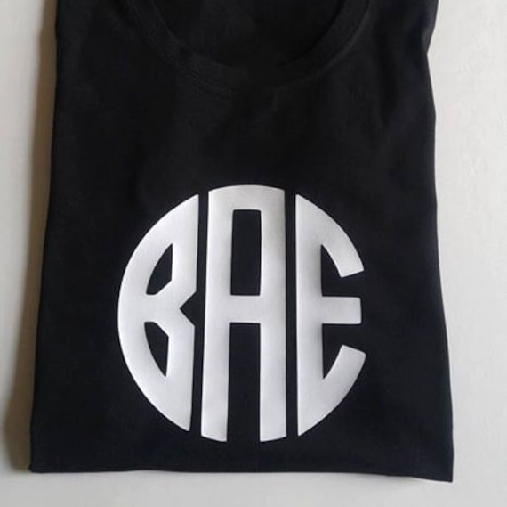 Items Similar To Bae Tee T Shirt Vinyl Designs Custom