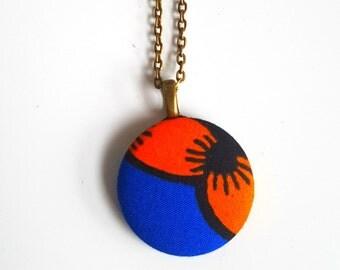 Cute Ankara Button Chain