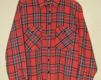 Vintage 90s Wool Blend Flannel