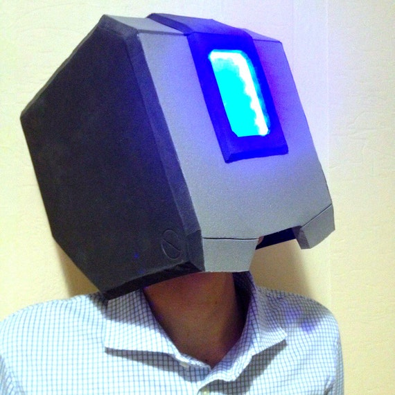 Overwatch Bastion Helmet Mask Cosplay Costume Armor By