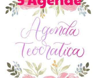 Theocratic agenda 2017-2018
