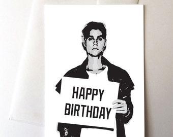 justin bieber card  etsy, Birthday card