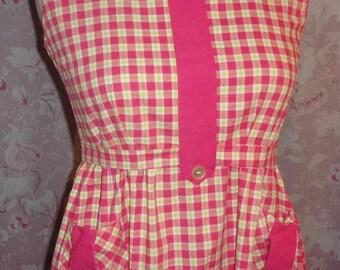 apron, blouse, old or vintage, campaign, school