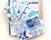 Hot Air Balloons Weekly Kit (stickers for Erin Condren Life Planner - Vertical)