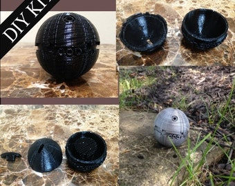 Star Wars Thermal Detonator Movie Prop Do It Yourself DIY Kit Good For Light Up LED Light Kits Hollow Inside