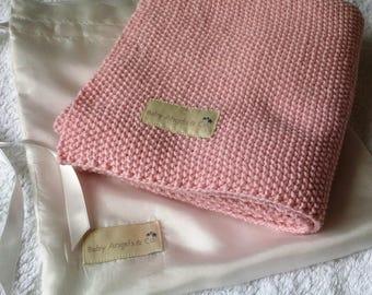 Baby Pram Blanket - Baby Angels & Co. - Designer Made Heirloom Gift - Made to Order Only