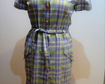 Vintage Escada 1980 blouse dress