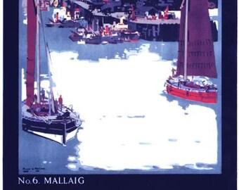 Vintage LNER Mallaig Railway Poster A3/A2/A1 Print