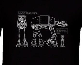 Star Wars At-At Walker  T Shirt