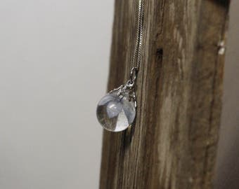 Real Hydrangea Necklace