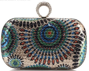 Luxury Sequined Evening / Prom / Clutch Bag BAG58