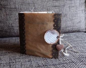 A ladys vintage mini junk journal