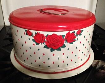 Vintage Cake Holder/Carrier