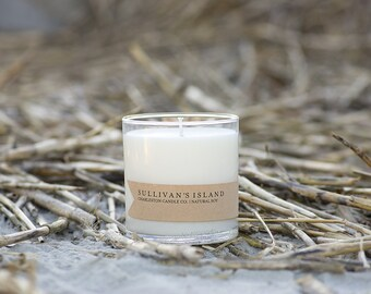 Sullivan's Island Candle | Ocean Breeze Scented Soy Candle | 9 oz Soy Candle | Charleston SC Inspired Candles