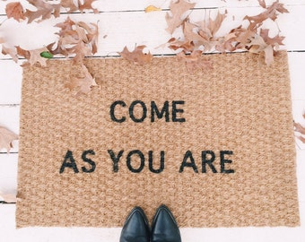 Come as you are Nirvana doormat