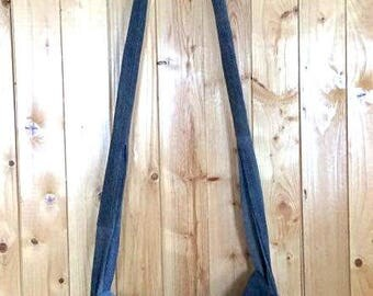 Long shoulder bag