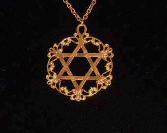 Filligree Star of David