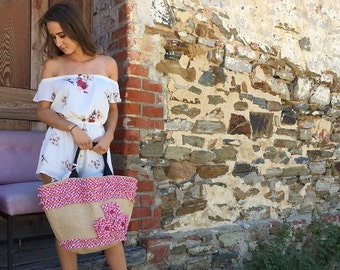 Bohemian Beach Bag/ hippie beach bag / weekender bag / large boho bag / large tote bag / gypsy travel bag/ tote bag/ boho festival bag