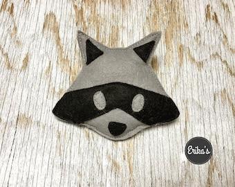 Raccoon Cat Toy with organic catnip - raccoon