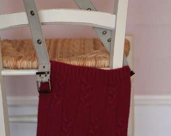 Sweater Purse * Cranberry 2