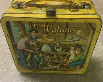 Aladin Waltons Metal Lunchbox