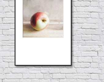 Printable Kitchen Wall Art, Apple Photography, 8x10 Wall Art, Small Art Print, Affordable Wall Art, Digital Download Photography