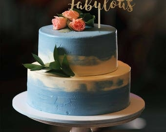 60 and fabulous cake topper 60 birthday cake topper 60th birthday decorations fabulous 60 centerpiece milestone cake topper gold