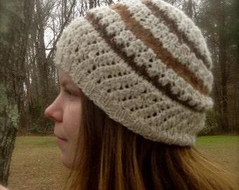 Lacy Alpaca Hat