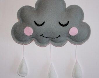 Handmade Sleepy Cloud Mobile