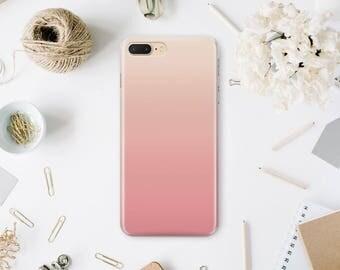 Ombre Phone Case iPhone 7 Matte Case iPhone Phone 7 Plus Protective Cover Phone 6 Case iPhone Phone 6s Case iPhone 6s Plus Case Iphone MN163