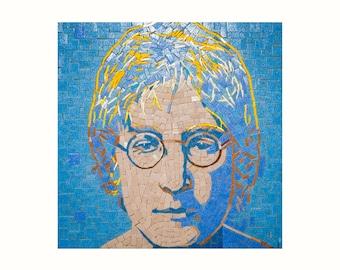 Reproduction of portret of John Lennon