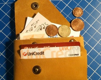 Men's/women's leather wallet from his pocket, credit card holder coin purse