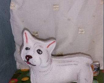 Customised West Highland White Terrier Art Doll