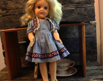 Vintage Ideal Toni Doll P-91 from the 1950s