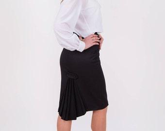 Black pencil skirt Skirt office Skirt to work Straight skirt The original skirt Knee length skirt